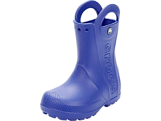 online retailer d3b3d 915cd Crocs Handle It Rain Boots Kids cerulean blue